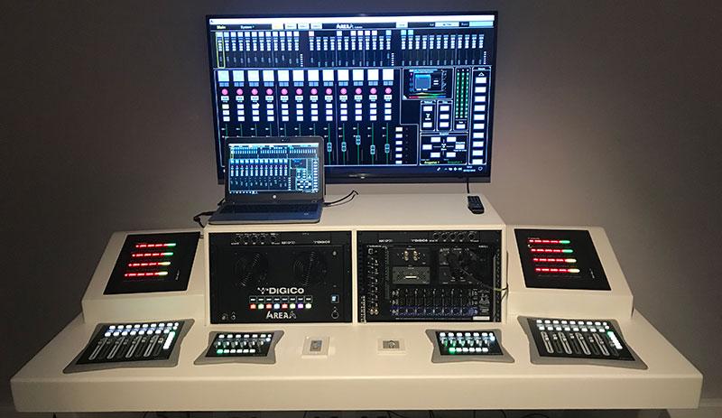 Nuevo sistema de gestión de audio para instalaciones 4REA4 de DiGiCo
