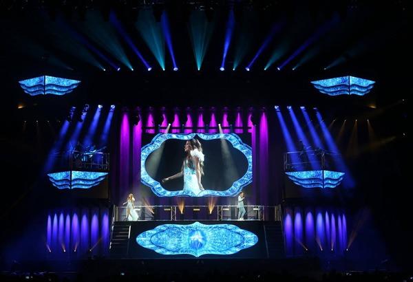 """Gira de """"Soy Luna Live"""" con sistemas Meyer Sound LEO"""