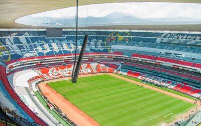 Estadio Azteca de Ciudad de México, el primero en utilizar los sistemas CAL con tecnología de red AVB