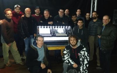 Curso DiGiCo y presentación de la nueva DiGiCo SD12 en la Sala La Nau