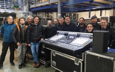 Nuevos Cursos DiGiCo en Twin Cam Audio, Barcelona