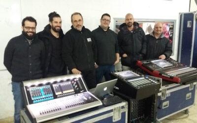Nuevos cursos de DiGiCo en Sonostudi, Barcelona