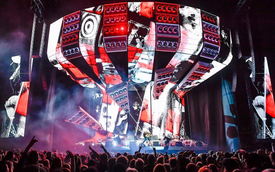 Ed Sheeran continúa su gira mundial con la Familia LEO y DiGiCo SD7