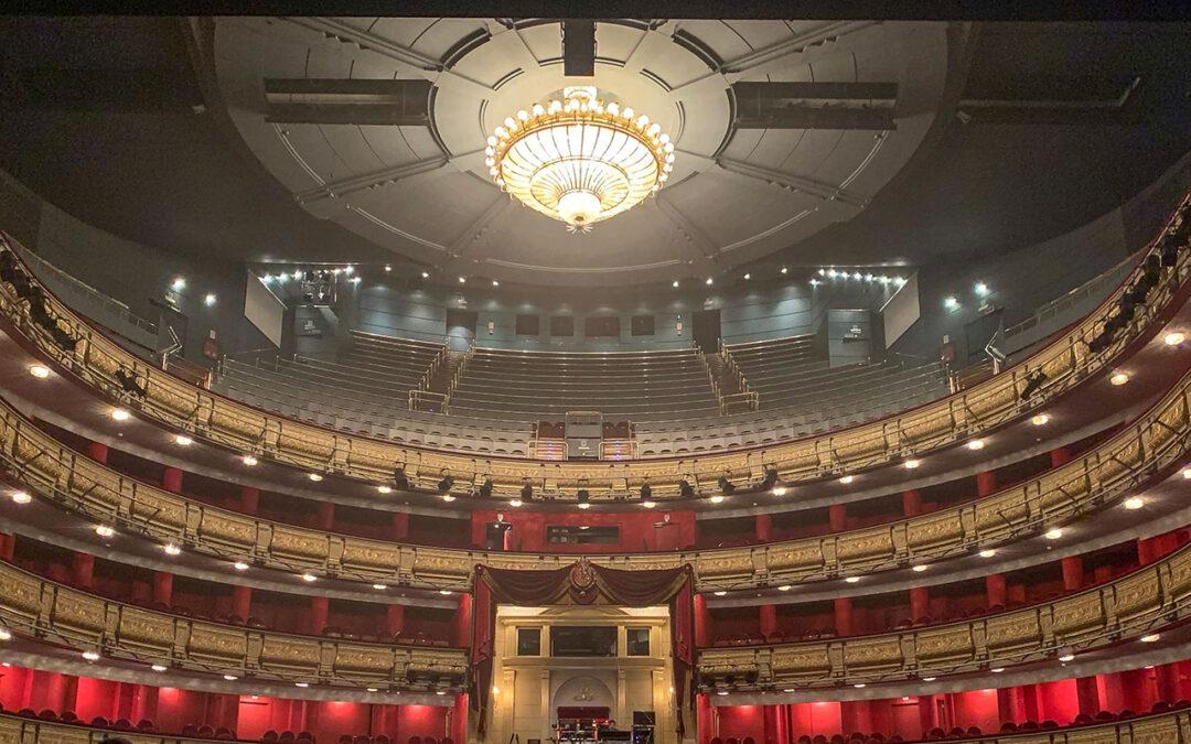 LINA se estrena con éxito en el Teatro Real para el concierto de David Bisbal