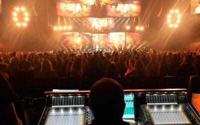 Familia LEO y DiGiCo en Los 40 Music Awards