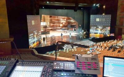 Ortiz Audio equipó la Gala de los Premios de la Academia de Cine Europeo con Meyer Sound Leopard y DiGiCo