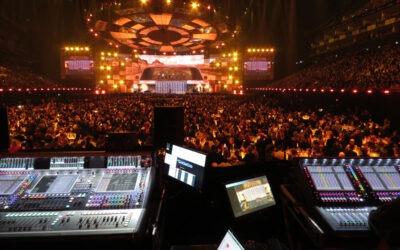 Despliegue de consolas DiGiCo en los BRIT Awards 2019