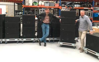 Sclat Team adquiere nuevos equipos Meyer Sound LEOPARD