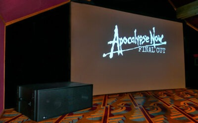 """Sensual Sound Technology de Meyer Sound se estrena en el Festival de cine de Tribeca con """"Apocalypse Now Final Cut"""""""