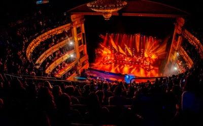 David Bisbal triunfa de nuevo en el Teatro Real con Fluge y los sistemas LINA de Meyer Sound