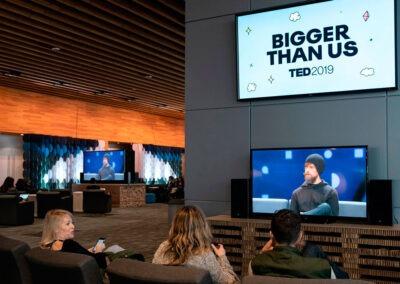 Sala de TED 2019