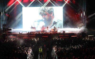 Fluge equipa con sistemas Meyer Sound LEO el concierto de despedida de Berri Txarrak en Bilbao
