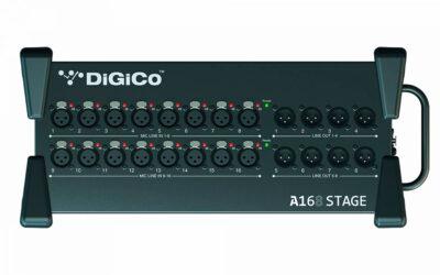 DiGiCo lanza el nuevo Rack A168 Stage