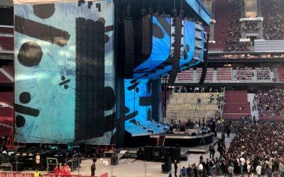 La gira mundial de Ed Sheeran recaló en España con su impresionante despliegue de sistemas Meyer Sound