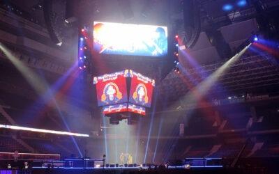Fluge Audiovisuales hizo un gran despliegue de sistemas Meyer Sound en la Final Internacional de Red Bull Batalla de los Gallos