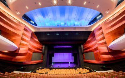 El Centro de Artes de Shangai estrena el primer sistema Meyer Sound Constellation en China