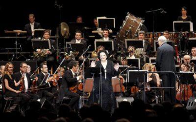 Montserrat Caballé vuelve a la capital