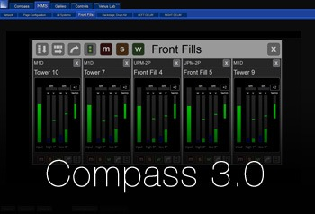 Nuevo Meyer Sound Compass 3.0 Unifica Sistema de Control y Monitorización