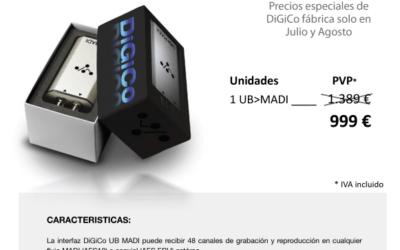 Nueva oferta de DiGiCo UBMADI