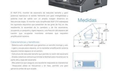Nuevo MJF – 210: Monitor de Escenario