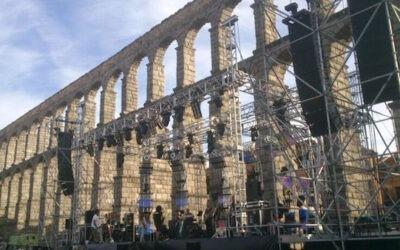Sergio Dalma confía en Meyer Sound en Segovia