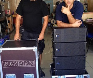 La empresa de Sonido Rayman adquiere equipo de Meyer Sound