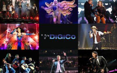 Las mesas DiGiCo en los Top Tours de 2014