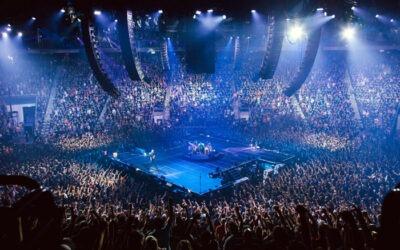 Metallica y los Meyer Sound LEO inauguran el Quebec Arena con un TM Array en círculo