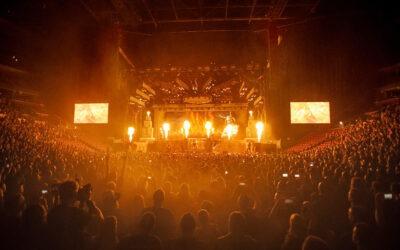 La serie LEO de Meyer Sound potencia a Iron Maiden en su gira mundial