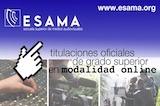 ESAMA ONLINE, titulaciones oficiales de Sonido, Producción y Realización