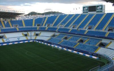 Auditel y Meyer Sound. Estadio La Rosaleda de Málaga, España