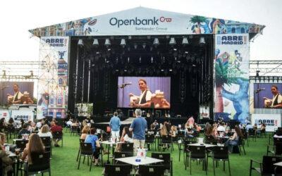 Fluge Audiovisuales sonoriza el escenario principal de «Abre Madrid» con sistemas Meyer Sound