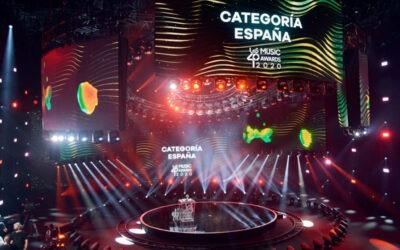 Fluge Audiovisuales equipó la gala virtual del Los40 Music Awards con sistemas Meyer Sound y consolas DiGiCo