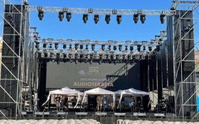 Arenas Audio equipó el concierto de Izal en Albacete con sistemas Meyer Sound LYON