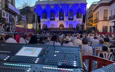 Ortiz Audio sonorizó el festival flamenco Gazpacho Andaluz con sistemas Meyer Sound LEOPARD y consolas DiGiCo